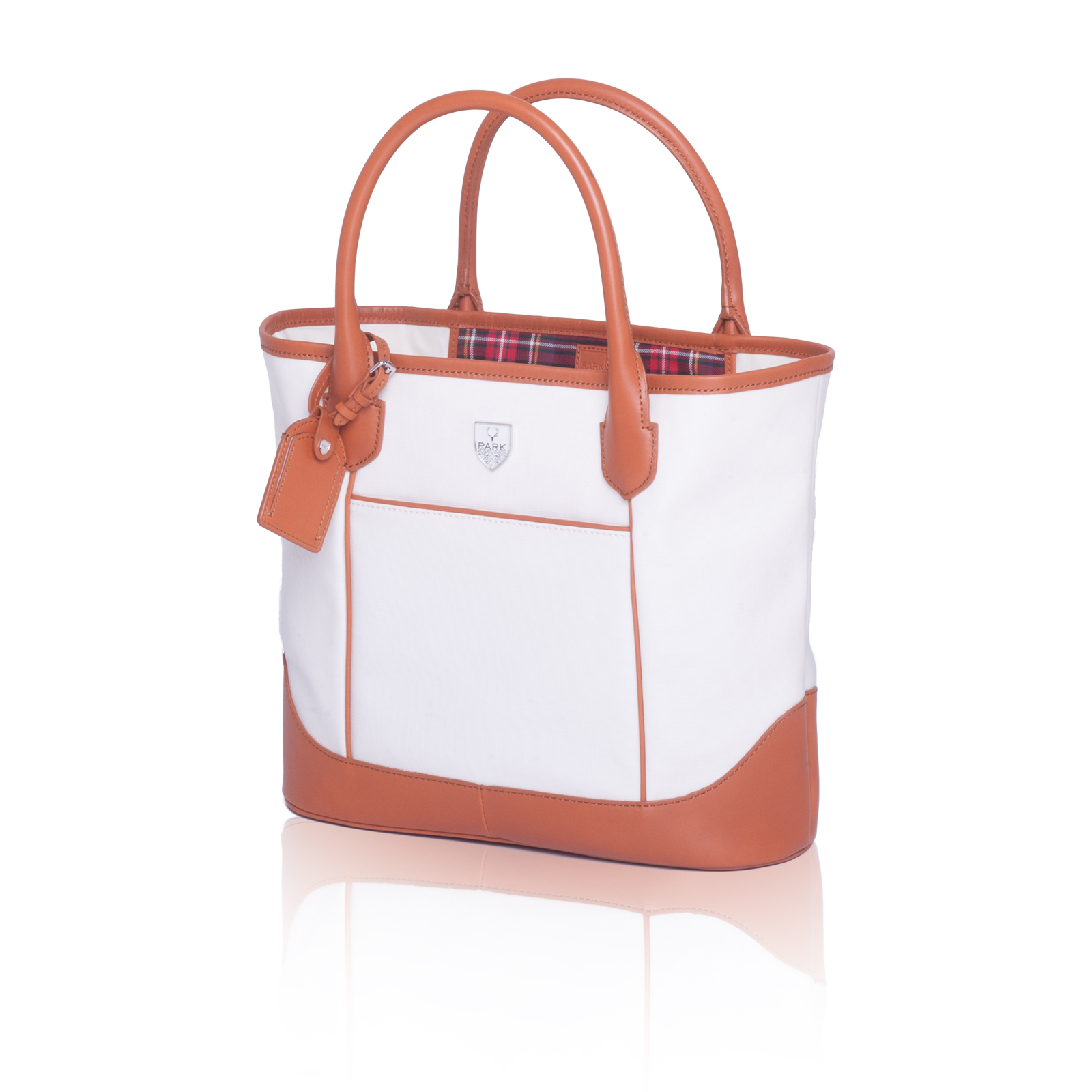 PARK Woodlands Small Tote White 1