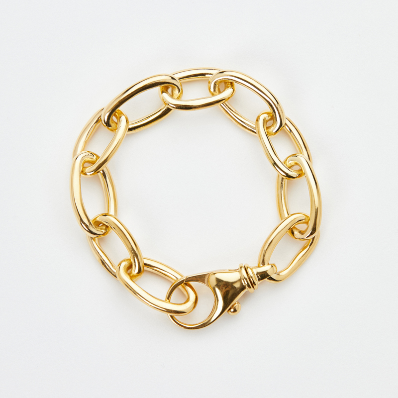 VERY curated luz ortiz classic chain bracelet