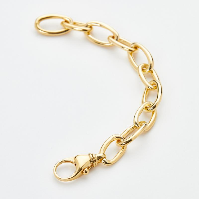 VERY curated luz ortiz classic chain bracelet