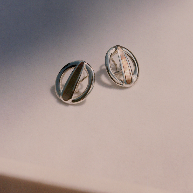 VERY curated luz ortiz cruz earrings