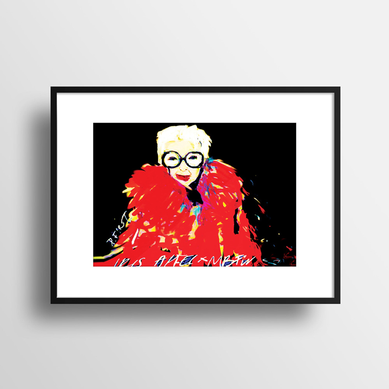 very curated deanna first iris apfel