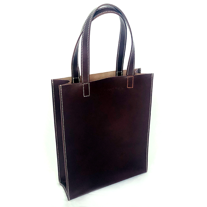 very curated r scott french shopper brown