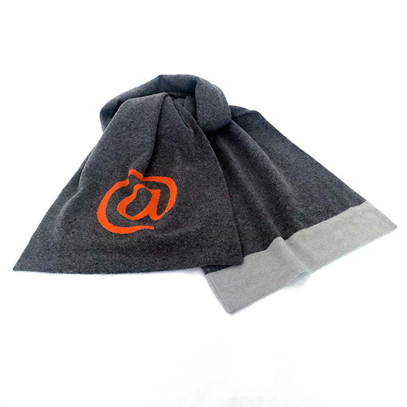 very curated r scott french scarf orange