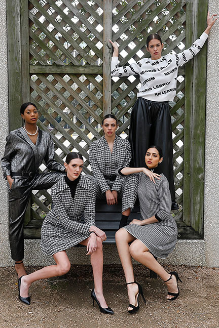 Image of Negris LeBrum's Fall Winter 2021 Collection... click image to view show.