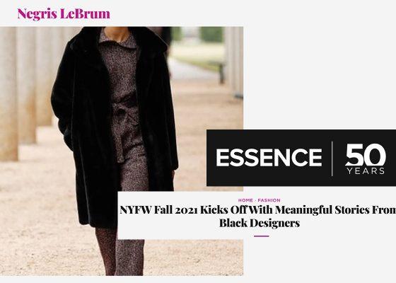 Essence: NYFW Negris LeBrum