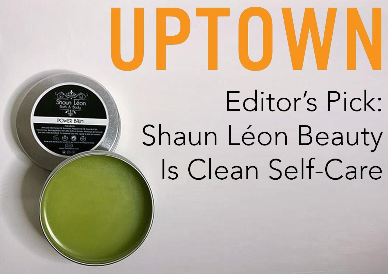 Shaun Léon in UPTOWN magazine