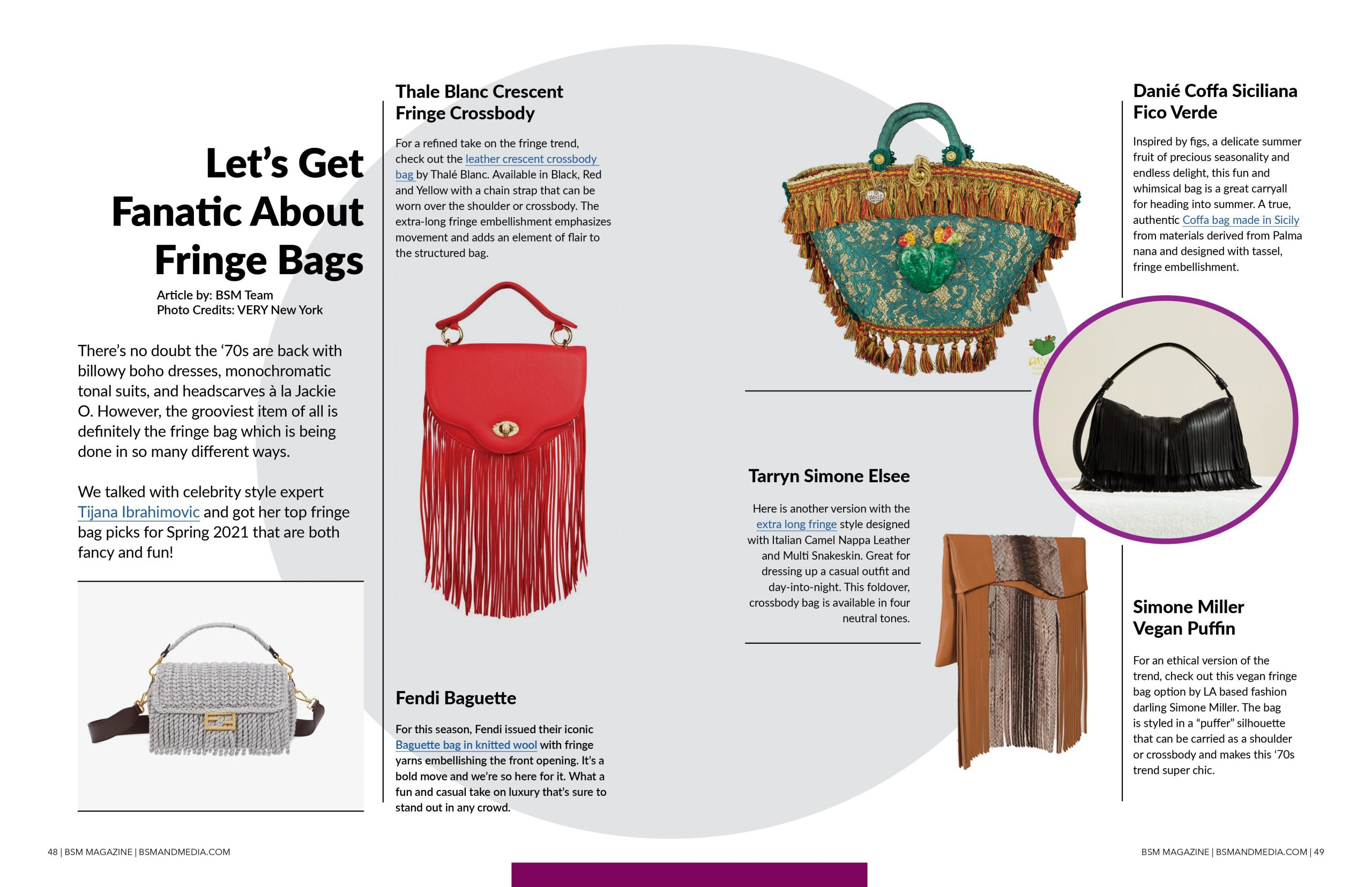 Let's Get Fanatic About Fringe Bags